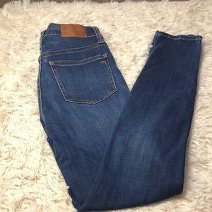 """Made well 10"""" high rise skinny Jean size 25"""